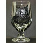 Cornish Orchards Branded Etched Pint Goblet