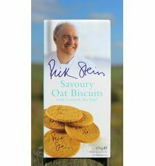 Rick Stein's Savoury Oat Biscuits With Cornish Sea Salt