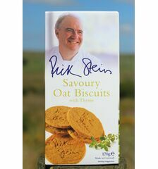 Rick Stein's Savoury Oat Biscuits With Thyme