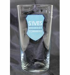 St Ives Brewery Branded Pint Glass