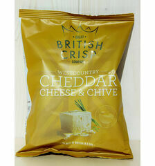Westcountry Cheddar Cheese & Chive Crisps