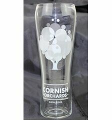 Cornish Orchards Blush Cider Branded Pint Glass