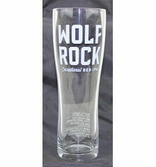 Sharp's Brewery Wolf Rock Pint Glass