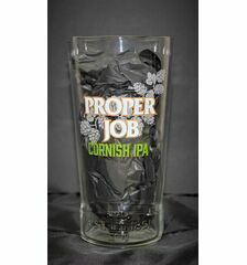 St Austell Brewery Branded Proper Job Pint Glass