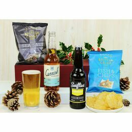Cornish Lager Mini Hamper