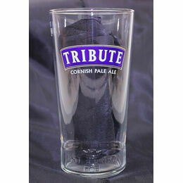 St Austell Brewery Branded Tribute Moulded Pint Glass