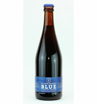 Blue Organic Dark Ale - Atlantic Brewery (ABV 4.8%)