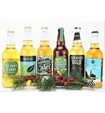 'Sumptuous Sextet' Cornish Cider Gift Box