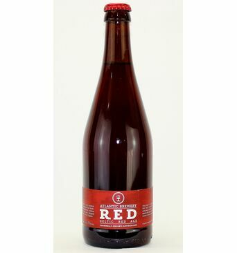Red Organic Celtic Ale - Atlantic Brewery (ABV 5.0%)