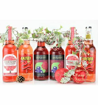 'Scarlet By Nature' Berry Cider Gift Box