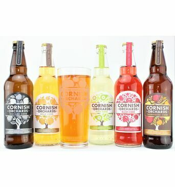 Cornish Orchards \'Mixed Cider Taster\' Gift Box