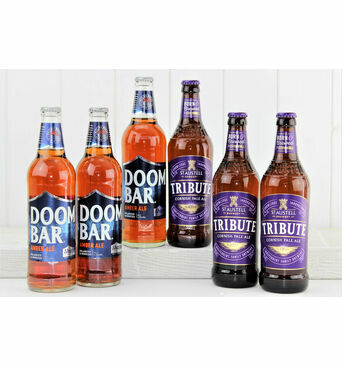 'Purple & Blue' Cornish Beer Gift Box
