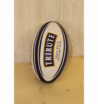 Tribute Branded Quality Rugby Ball