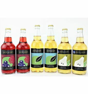 Polgoon Sextet Cornish Cider Gift Box