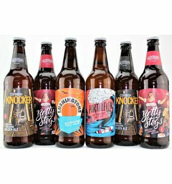 'Skinner's Sextet' Cornish Ale Gift Box