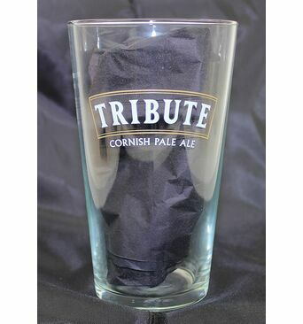 St Austell Brewery Branded Sleeve Pint Glass