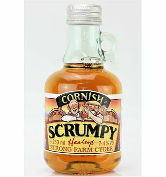 Scrumpy Flagon, Medium Dry - Healey's (ABV 7.4%)