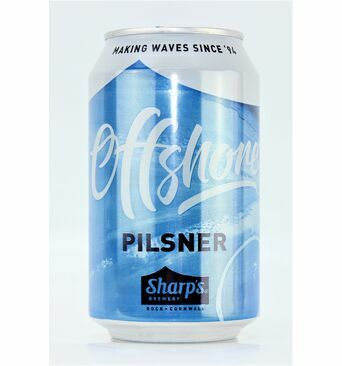 Cornish Offshore Pilsner - Sharp\'s Brewery (ABV 4.8%)