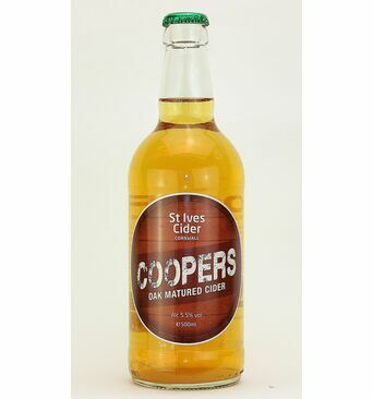 Coopers Oak Matured Cider - St Ives Cider (ABV 5.5%)
