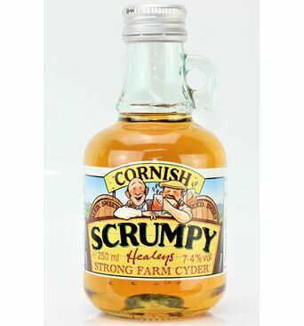 Scrumpy Flagon Medium Sweet Cider - Healey's (ABV 7.4%)