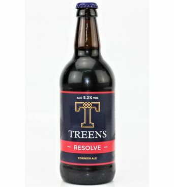 Resolve - Treen\'s Brewery (ABV 5.2%)