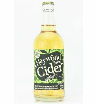Medium Sparkling Cider - Haywood Farm (ABV 5.0%)