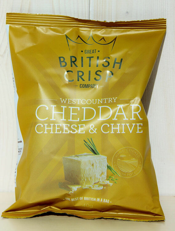 Westcountry Cheddar Cheese & Chive Crisps only £0.96