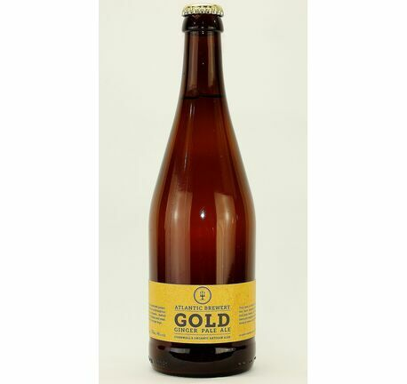 Gold Organic Pale Ale - Atlantic Brewery (ABV 4.6%)