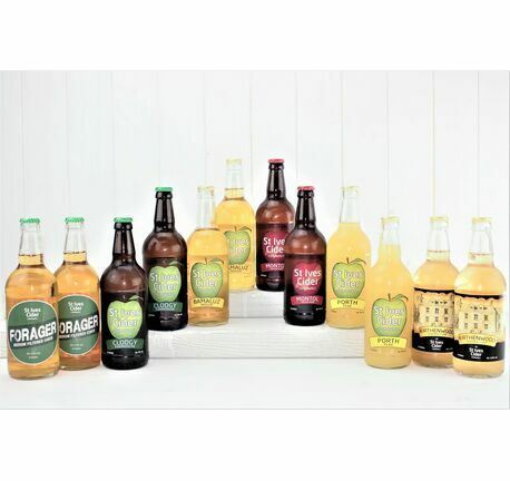 'A Tour Of St Ives' Luxury Cider Gift Box