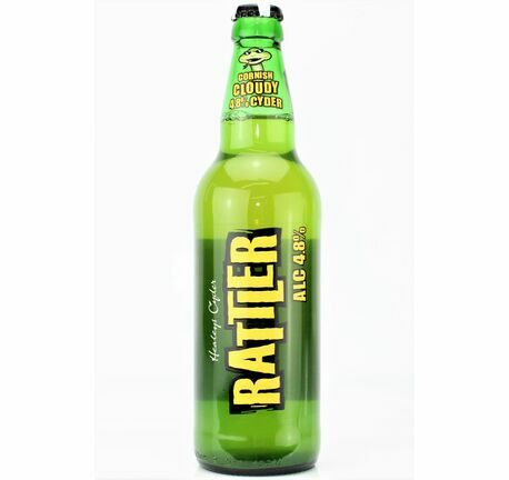 4.8% Cloudy Rattler Cyder - Healey's (ABV 4.0%)