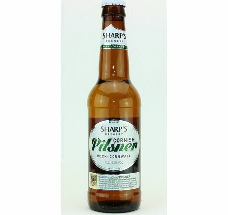 Cornish Pilsner - Sharp's Brewery (ABV 5.2%)