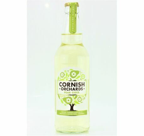 Pear Cider - Cornish Orchards (ABV 5.0%)