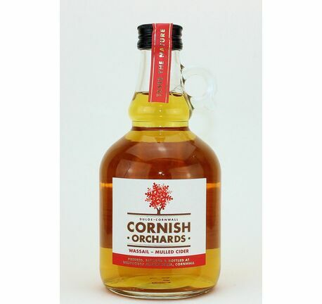 Wassail Mulled Cider 500ml Flagon - Cornish Orchards (ABV 4.0%)