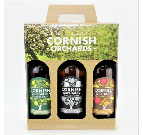 Cornish Orchards Connoisseurs Cider Trio