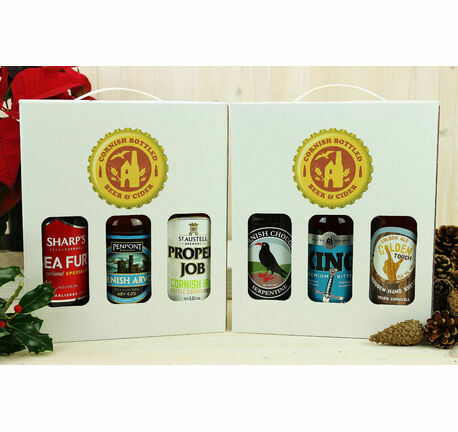 6 Bottle Stylish Beer Carry Gift Box