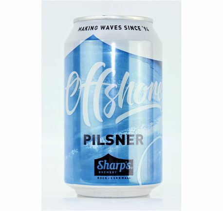 Cornish Offshore Pilsner - Sharp's Brewery (ABV 4.8%)