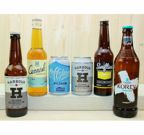 Cornish Lager & Pilsner Taster Gift Box