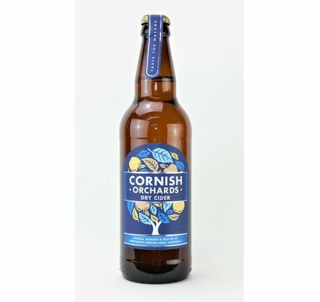 Dry Cider - Cornish Orchards (ABV 5.2%)