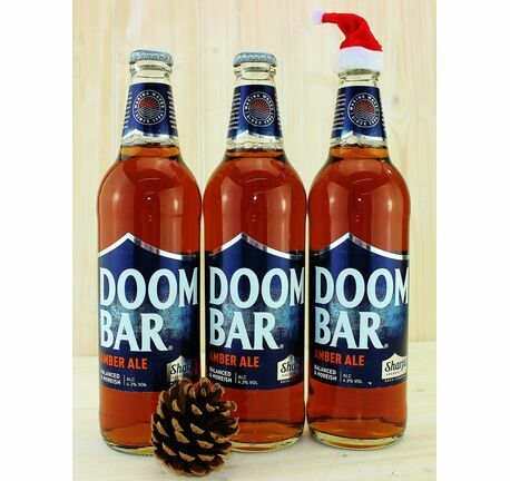 Trio Of Doom Bar Cornish Ales