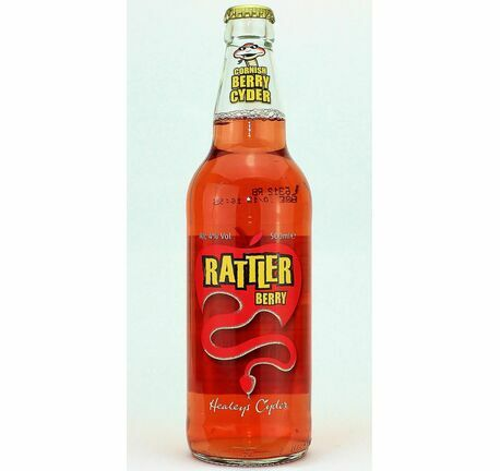 Berry Rattler Cider - Healey\'s (ABV 4.0%)