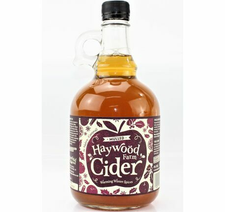 Mulled Cider 1 Litre Flagon - Haywood Farm (ABV 4.0%)
