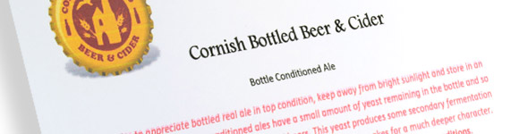 How to store bottle conditioned ale
